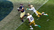 Navy wide receiver Shawn Lynch standing out in his return to offense