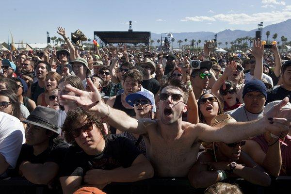 The 2012 Coachella crowd.