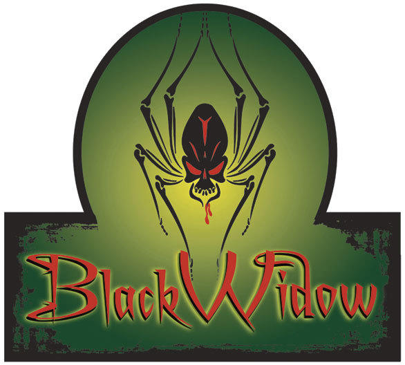 In the Black Widow haunted maze, the dead struggle to survive a spider's nest during Fright Fest 2012 at Six Flags Magic Mountain.