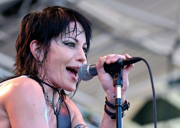 "Rocker <a class=""taxInlineTagLink"" id=""PECLB002585"" title=""Joan Jett"" href=""/topic/entertainment/music/joan-jett-PECLB002585.topic"">Joan Jett</a> is 53 today. (Photo by Lyle A. Waisman/Getty Images)"