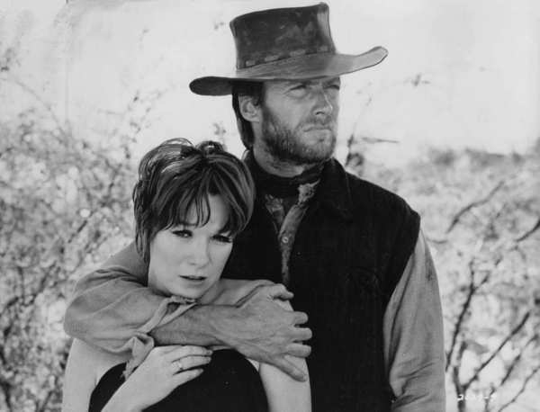 "Clint Eastwood and Shirley MacLaine in ""Two Mules For Sister Sara,"" 1970"