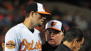 Jason Hammel re-injures right knee in Orioles' 9-2 win over Rays