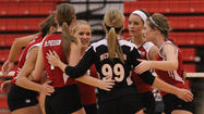 No. 2 McPherson volleyball gets big win over third-ranked Rose Hill