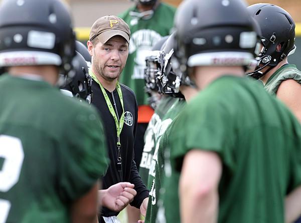 Atholton coach Kyle Schmitt.