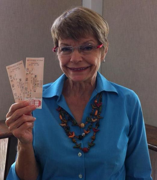 Congratulations to Marilyn. She won two tickets to see Il Volo in concert