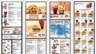 McDonald's to unveil new menu boards with calorie counts