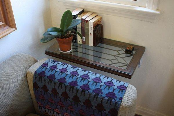 DIY window shelf