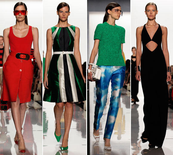 Looks from the Michael Kors spring-summer 2013 collection shown during New York Fashion Week.