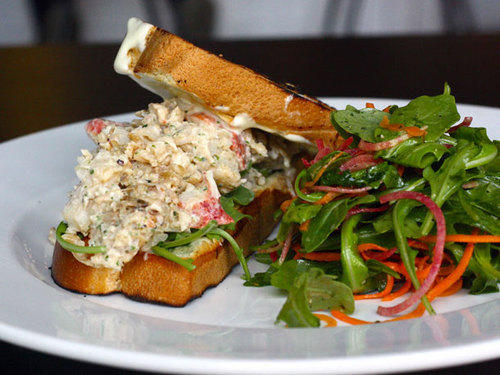 The Savoy's lobster roll