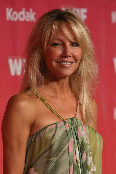 "The stunning <a class=""taxInlineTagLink"" id=""PECLB003037"" title=""Heather Locklear"" href=""/topic/entertainment/heather-locklear-PECLB003037.topic"">Heather Locklear</a> celebrates her 51st birthday today. (Photo by Frazer Harrison/Getty Images)"