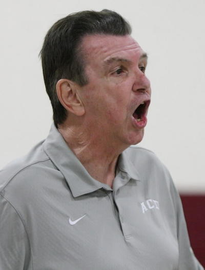 Jacksonville Arlington Country Day coach Rex Morgan is set to lead his Sunshine Independent Athletic Association team to play in a basketball tournament at Orlando Christian Prep in November. (Stephen M. Dowell, Orlando Sentinel)