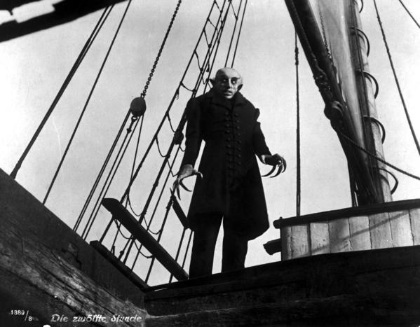 "Silent film's most iconic version of Bram Stoker's 1897 novel ""Dracula"" was F.W. Murnau's 1929 film ""Nosferatu,"" which starred Max Schrek as the vampire."