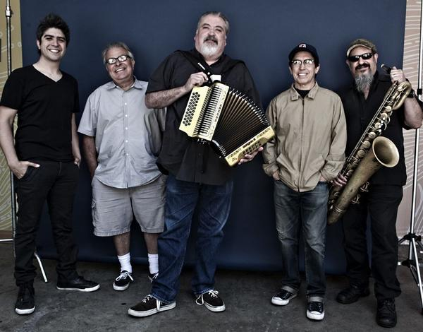 "Members of Los Lobos played their 1992 album ""Kiko"" live on KCRW-FM in Santa Monica."