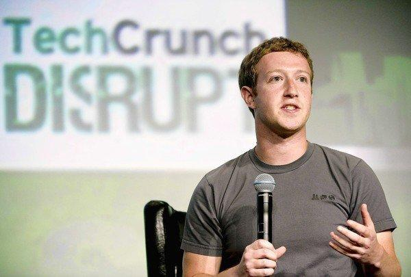 Facebook Chief Executive Mark Zuckerberg's appearance at the TechCrunch Disrupt conference in San Francisco on Tuesday marked his first interview since the company's disastrous debut as a public company in May. Since then, the stock has lost about half of its value. The stock rose $1.50, or 7.7%, to $20.93 in trading Wednesday.