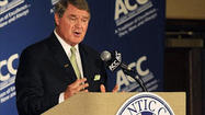 Atlantic Coast Conference headquarters in Greensboro, N.C., is not exactly party central. But you can bet they were pouring a few cocktails and dancing on the desks Wednesday. Why, John Swofford, the buttoned-down commissioner with the nerve of a cat burglar, might have even loosened his tie for this one.