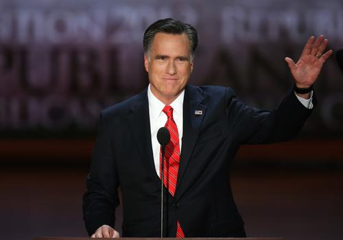 "<p>In October, when Romney was still fighting for the GOP presidential nomination, he was unequivocal about climate change: ""My view is that we don't know what's causing climate change on this planet. And the idea of spending trillions and trillions of dollars to try to reduce CO2 emissions is not the right course for us."" Now that he's seeking to appeal to the broader electorate, he has dialed that back a little; in a statement this month posted on the website <a href=""http://sciencedebate.org/"">Sciencedebate.org</a>, he acknowledged that human activity is contributing to global warming but maintained that ""there remains a lack of scientific consensus on the issue,"" so further research is needed. There is an overwhelming scientific consensus that the planet is warming and that human activity is the cause.</p> <br>  <p>Above: Romney addresses the Republican National Convention on Aug. 30 in Tampa, Fla.</p> <br>  <p><strong>ALSO:</strong></p> <br> <p><a href=""http://www.latimes.com/news/opinion/opinion-la/la-ol-romney-wind-iowa-20120809,0,5862699.story"">Romney's full of wind on tax credit</a></p>"