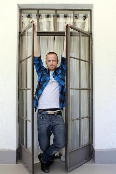 "Aaron Paul, costar of AMC's Breaking Bad,"" at the Chateau Marmont in Hollywood. The Emmy-winning drama launches its fifth season Sunday. MORE: Aaron Paul wil be a 'sobbing mess' when 'Breaking Bad' ends"