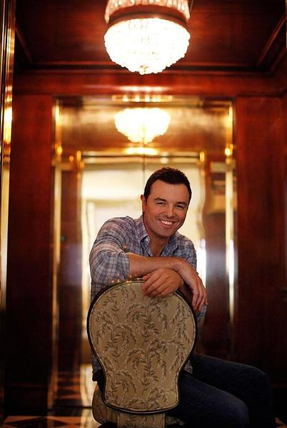 Celebrity portraits by The Times: Seth Macfarlane said he wanted a departure from Family Guy. The result was the hit film Ted. MORE: Ted stuffed with classic Seth MacFarlane | Why Ted sounds so similar to Family Guys Peter Griffin