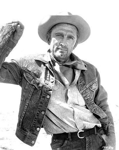 "Kirk Douglas in 1962's ""Lonely Are the Brave."""