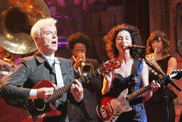 David Byrne says context is key in music.