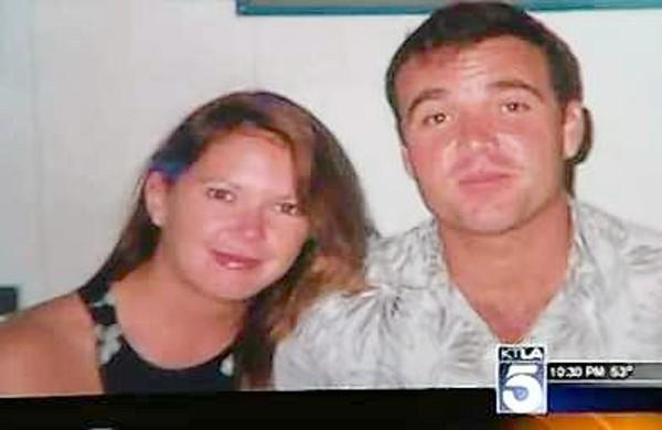 Dawn and David Viens. Jacqueline Viens testified at her father's murder trial Wednesday.