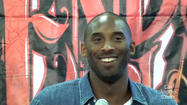 Kobe Bryant inspired by a homeless man on skid row