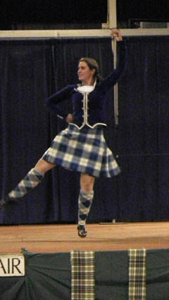 Kristy Van Hoven operates the Guthrie School of Dance and is part of the Guthrie Highland Dancers.
