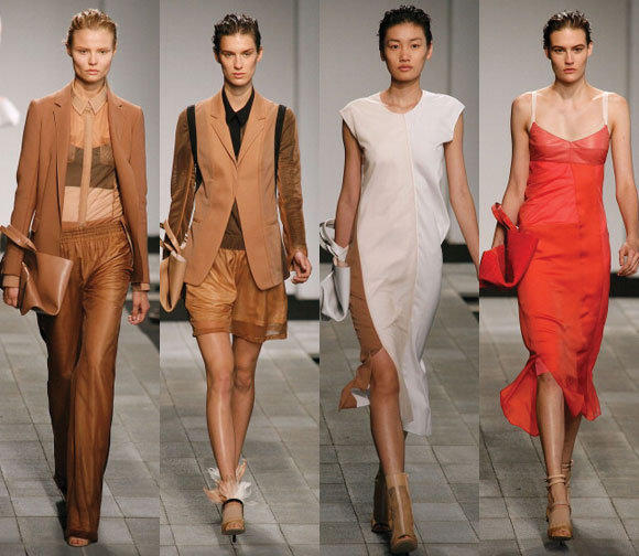 Looks from the Reed Krakoff spring - summer 2013 collection shown during New York Fashion Week.
