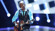 "The biggest thing to hit NBC's ""The Voice"" tonight was Baltimore's Nelly's Echo, a Nigerian refugee who wowed the judges with his rendition of Bill Wither's ""Ain't No Sunshine,"" and who found a place on Christina Aguilera's team."