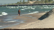 Lake Michigan nearing record low water levels