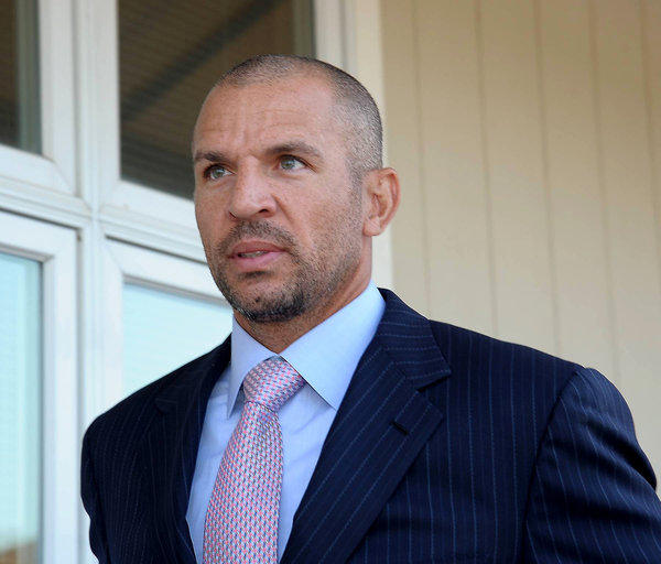 Jason Kidd walks into court on Wednesday.