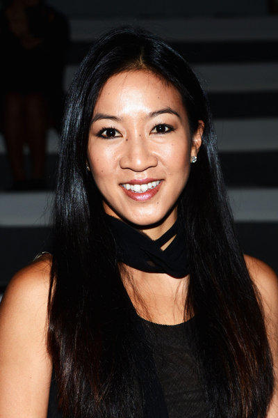Michelle Kwan attends the Vera Wang Runway Show in New York on Sept. 11.