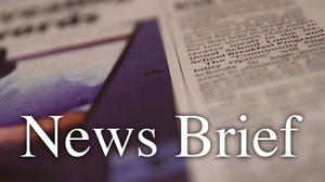 News Briefs for Sept. 13, 2012