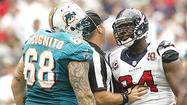 Miami Dolphins left guard Richie Incognito took exception to being called a dirty player by Houston Texans defensive lineman Antonio Smith.