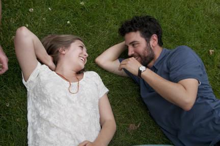 Elizabeth Olsen and Josh Radnor in 'Liberal Arts'