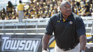 Towson coach Rob Ambrose was having a conversation with his agent this spring and asked if he knew anyone interested in joining his staff to work with the defensive line.