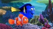 """Finding Nemo's"" 3-D re-release should go swimmingly at the box office this weekend, as the animated film is expected to debut at No. 1."