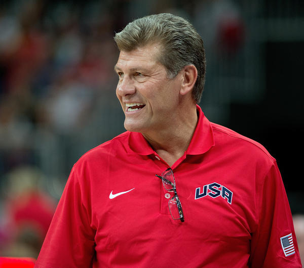 "Geno Auriemma, UConn women's coach: ""The great success achieved by the UConn men's basketball program under Jim Calhoun's leadership helped propel the University of Connecticut onto the national stage. His contributions to this University have been positive and will be long lasting. I want to take this opportunity to wish Jim Calhoun all my best in a long, happy and healthy retirement. I have always admired Kevin Ollie as a person and as a player and know that he will make the most of this opportunity. He has had great success in everything he has done and I am confident this will be no exception."""
