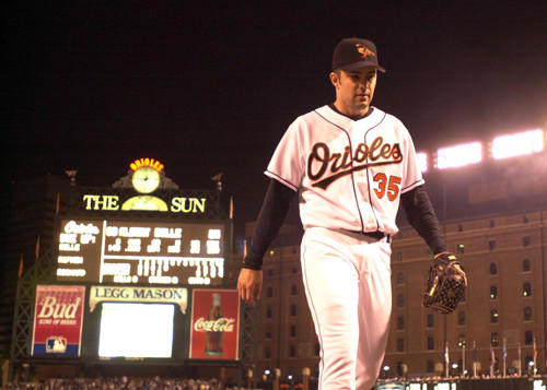 The Orioles finished 74-88, fourth in the AL East, in Mike Mussina's final year with the club. It was also Mike Hargrove's first season as manager.