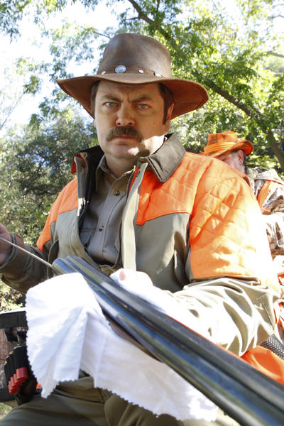 'Parks and Recreation': Our favorite Ron Swanson quotes [Pictures]: I am off to have a mid-morning pre-lunch with my lady friend, but I will be back in time for lunch.