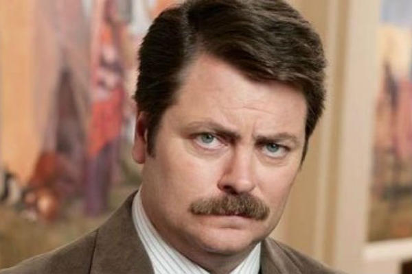 'Parks and Recreation': Our favorite Ron Swanson quotes [Pictures]: Clear alcohols are for rich women on diets.