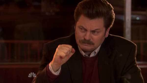 'Parks and Recreation': Our favorite Ron Swanson quotes [Pictures]: Shorts over six inches are capri pants, shorts under six inches are European.