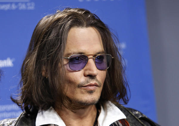 "Johnny Depp is at the festival for his new movie ""West of Memphis."""