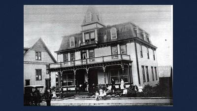 Hays Hotel in Salisbury, 1900.