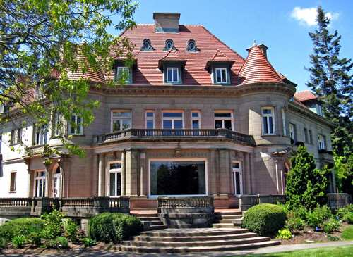 The Pittock Mansion, a 16,000-square-foot French Renaissance-style masterpiece, reigns atop a 1,000-foot bluff overlooking Portland, Ore. With panoramic views of the Willamette and Columbia rivers and five Cascade mountains, the mansion is a testament to what power and wealth could achieve in 1914, what civic activism could restore in 1965 and what could be a killer setting for a house party in 2012.