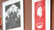 Pictures: Joe Illick's Presidential woodcuts
