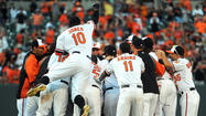 In the end, these Orioles reduced the milestone to something small, almost insignificant. That's how weird, wonderful and exciting they have turned out to be in 2012.