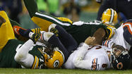 Offensive line lets Chicago Bears down