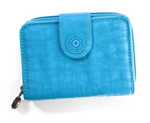 <i>$34, kipling-usa.com</i><br><br>  Pros:<br><br>  --A lot of room in a compact, lightweight space<br><br>  --Zippered three-section coin pocket<br><br>  --Room for many credit cards; two transparent windows<br><br>  Cons: Roominess makes it easy to carry stuff you don't need<br><br>