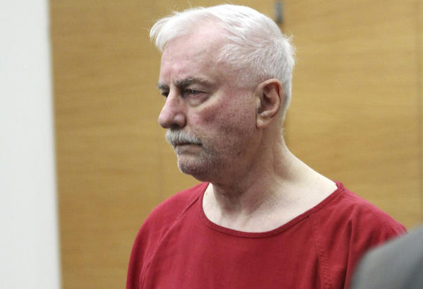 Jack Daniel McCullough, 71, enters a King County Jail courtroom in Seattle on July 4, 2011 for his bail hearing after being arrested on June 29, 2011 for the 1957 abduction and murder of then seven-year-old Maria Ridulph of Sycamore, Illinois.